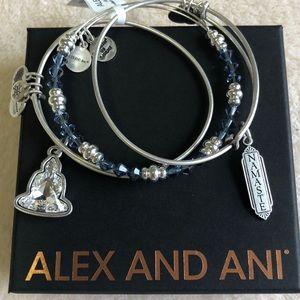 🎉HP🎉 Alex & Ani Namaste Crystal bracelets 2LEFT